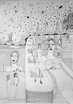 under pressure mnutz 2012 Pen Drawings, Under Pressure, Black And White, Paper, Art, Art Background, Black N White, Black White, Kunst
