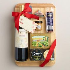 One of my favorite discoveries at WorldMarket.com: A Cut Above Wine Gift Basket