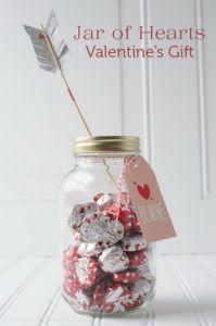 9 A Jar of Chocolate Hearts