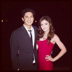 Chrissy and her boyfriend (maybe?)