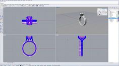 Modeling an ENGAGEMENT RING on Vimeo