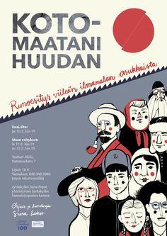 Poster design by Kiira Sirola © Life Drawing, Storytelling, Poster, Design, Billboard
