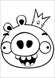 Dibujos para imprimir Angry Birds 7