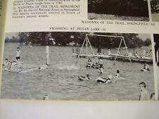 "Booklet 1953 SOHIO, ""Let's Explore OHIO"", Silver Isle Beach, INDIAN LAKE, OHIO"