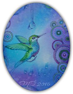 'Mir'acle Art Inspirations: Colorful hummingbirds from designs by Ryn........1...