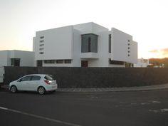 Vivienda en Lanzarote, con Atelier de Rafael del Castillo