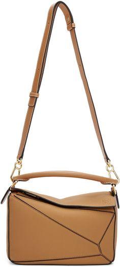 720ac599accf Loewe - Brown Small Puzzle Bag