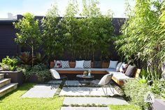 Styling with large pavers and built in bench ©-Adam-Robinson-Design-Sydney-Outdoor-Design-Styling-Landscape-Design