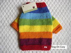 Cane maglione mano maglia maglione dell'animale