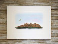 Unique Art, Unique Gifts, Pebble Pictures, Sea Glass Art, Mountain Range, Pebble Art, Stone Art, Rocks, Decorating Ideas