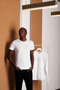 Tshirt Basus Paris blanc