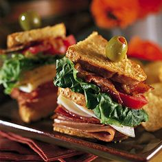 Receta de Club sándwich