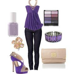 """""""Purple """" by doux-afrique on Polyvore"""