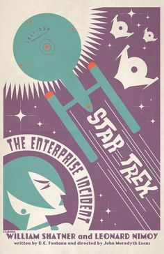 Cool Art: Star Trek TOS E57 'The Enterprise Incident' by Juan Ortiz