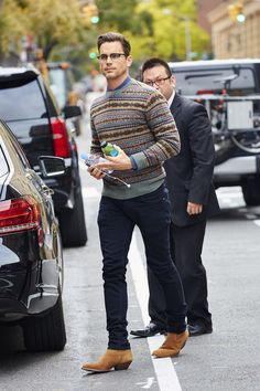 Stop What You& Doing And Worship These Matt Bomer Pictures Mens Fashion Quotes, Boy Fashion, Stylish Men, Men Casual, Z Cam, Costume, Men Street, Matt Bomer, Lady And Gentlemen