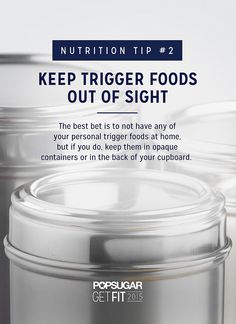 When it comes to losing weight, you need a strategy for dealing with trigger foods.