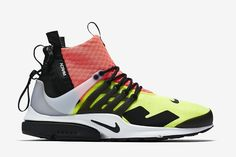best authentic 8d5b0 305bf NikeLab Air Presto Mid x Acronym  Releasing in Three Colorways. Schuhe  TurnschuheMännerschuheNike TrainerNeue ...