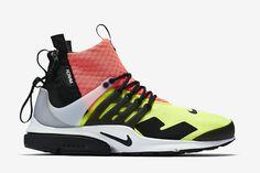 premium selection 9e82e b3453 NikeLab Air Presto Mid x Acronym Hot Lava Volt NikeLab Air Presto Mid x  Acronym