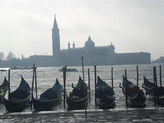 Gondolas: Venice, Italy