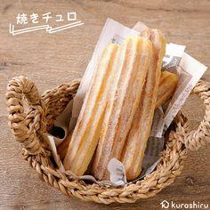 Bread Recipes, Snack Recipes, Dessert Recipes, Cooking Recipes, Snacks, Desserts, Japanese Sweets, Japanese Food, Cook N