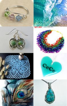 A Colorful Collection by Charlotte Lee on Etsy--Pinned with TreasuryPin.com