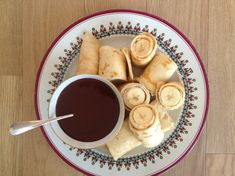 Evening Standard Column – Banana crêpe rolls with hot fudge sauce - Rachel Khoo » Blog
