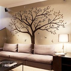 Giant Family Tree Wall Sticker Vinyl Art Home Decals Room Decor Mural Original in Baby,Nursery Décor,Wall Décor | eBay