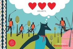 ♥♥♥ Hearts - Thereza Rowe ▲ illustration
