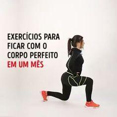 Exercícios para ter o corpo ideal em um mês