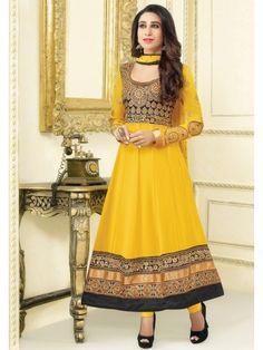 Karishma Kapoor Series Un-Stitched Anarkali Suit - mf-el-3-06