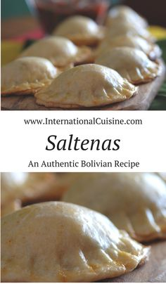 Saltenas in Bolivia are similar to Empanadas in other countries.  This recipe for saltenas is a  savory pastry stuffed with meat and onions.  Serve it with some Bolivian salsa for a real treat!