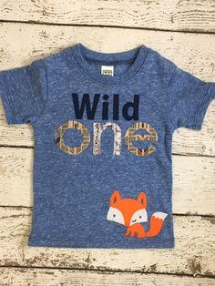 Wild one birthday shirt First birthday shirt by lilthreadzclothing