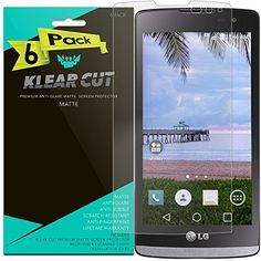 LG Destiny Screen Protector 6Pack Klear Cut High Definition Matte Screen Protector for LG Destiny PET Film AntiGlare and AntiBubble Shield ** Check out the image by visiting the link.