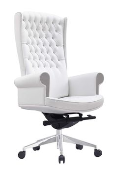 Whiteline Napoleon Executive High Back Office Chair                                                                                                                                                                                 More