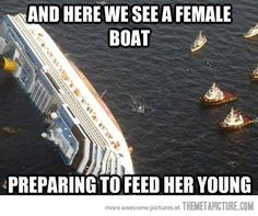 Maritime mom…
