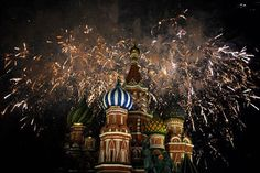 Celebrating New Year's more enthusiastically than Christmas. | 16 Things Russians Do That Americans Might Find Weird