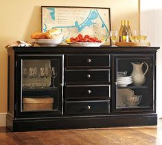 Black Hutch  Black Hutch Black And Ps Simple Narrow Dining Room Hutch Design Inspiration