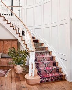 The Boho-Approved Upgrade Your Staircase Desperately Needs on domino.com