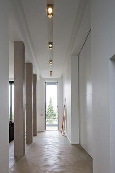 Modern minimalistic recessed lights//