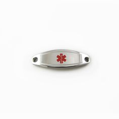Purple My Identity Doctor Red Millefiori Glass Pre-Engraved /& Customized CAL Lung Disease Medical Bracelet
