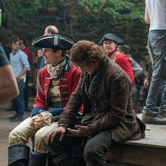 """233 Likes, 1 Comments - Italian Outlanders (@outlander_world) on Instagram: """"#Repost from @outlander_starz . Louis, I think this is the beginning of a beautiful friendship.…"""""""