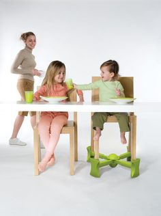 Amazon.com : Kaboost Portable Chair Booster, Green : Chair Booster Seats : Baby