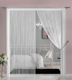 Rainfall String Curtains by Castle Trimmings.