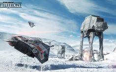 Wallpapers HD: Star Wars Battlefront AT AT
