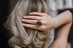 Jewelry and Decor from Brazil в Instagram: «Кольцо с кристаллами аметиста ▫️Основа: медный сплав с серебрением 1000к ▫️Статус: ❗️ПРОДАНО❗️ ▫️Размер: регулируемый ▫️Стоимость:…» Druzy Ring, Rings, Jewelry, Jewellery Making, Ring, Jewerly, Jewlery, Jewelery, Jewelry Rings