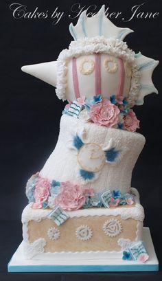 creative+weding+cake+especially | ... wedding cake, steampunk wedding cake, unusual wedding cake, cakes by