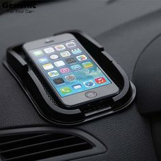 Cheap dashboard sticky pad mat, Buy Quality sticky pad mat directly from China dashboard sticky pad Suppliers: 2017 HOT Sale! NEW Black Car Dashboard Sticky Pad Mat Anti Non Slip Car Dashboard Holder For Gadget Mobile Phone GPS Stand Must Have Car Accessories, Car Interior Accessories, Car Holder, Phone Holder, Cool Car Gadgets, Car Audio Systems, Sticky Pads, Sat Nav, Free Shipping