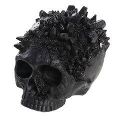 Chic Halloween, Halloween Skull, Halloween 2020, Halloween Party, Halloween Goodies, Diy Crystals, Black Crystals, Halloween Filters, Small Skull