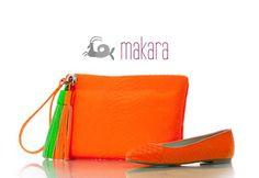Bolsos flúor #verano #flúor #color más en www.makara.es