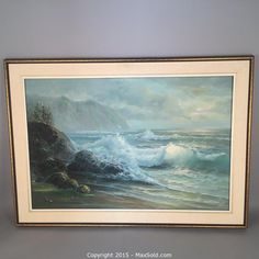 MaxSold - Auction: Estate Art & Antiques Online Auction -  Oil on Canvas Painting by Frederick Fenton